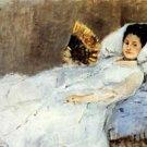1874 Portrait of Mrs Hubard - 24x18 IN Canvas