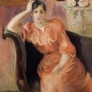 Portrait of Jeanne Pontillon - 1894 - 24x18 IN Canvas