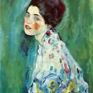 Portrait of a Lady by Klimt - 24x18 IN Canvas
