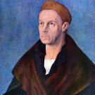 Portrait of Jakob Fugger by Durer - 24x18 IN Canvas