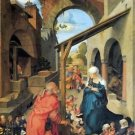 Birth of Christ by Durer - 24x18 IN Canvas