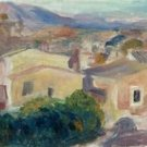 Landscape of Cagnes-sur-Mer, 1899 - 24x32 IN Canvas