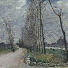 View of Moret-sur-Loing, 1890 - 24x32 IN Canvas