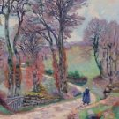 Landscape of the Creuse, 1902 - 24x32 IN Canvas