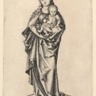 Madonna and Child with apple (1470-1490) - 24x32 IN Canvas