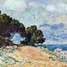 Cape Martin in Menton by Monet - A3 Paper Print