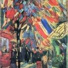 14 July in Paris by Van Gogh - A3 Paper Print