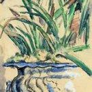 Blue Flowerpot, 1885 - A3 Poster