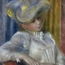 Woman With a Hat, 1891 - A3 Poster