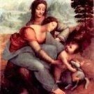 Anna Selbdritt 2 by Da Vinci - 24x18 IN Canvas