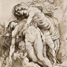 The Death of Adonis by Rubens - 24x18 IN Canvas