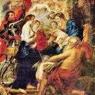 Madonna with Saints by Rubens - 24x18 IN Canvas