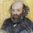 Portrait of Paul Cezanne, 1880 - 24x18 IN Canvas