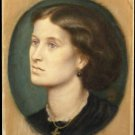 Portrait of Mrs Vernon Lushington, 1865 - 24x18 IN Canvas