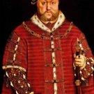 Portrait of Henry VIII. 1542 - 24x18 IN Canvas