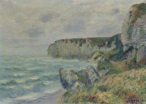 Cliffs of Saint-Jouin, 1908 - 24x18 IN Canvas