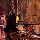 The gold framework by Giovanni Boldini - 24x32 IN Canvas