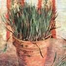 Flowerpot with Chives by Van Gogh - 24x18 IN Poster