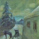 Moonscape with horse by Walter Gramatte - 24x18 IN Poster