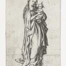 Madonna with child. 1470-1490 - A3 Poster