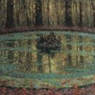 The Pool with Duckweed, 1916 - 24x32 IN Canvas
