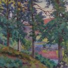 Landscape of the Creuse, 1910 01 - 24x32 IN Canvas