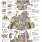 Vinteja charts of - Saturn V Dissection - A3 Paper Print