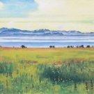 View of Lake Geneva from Saint-Prex, 1901 - A3 Poster