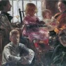 Hull family by Lovis Corinth - A3 Paper Print