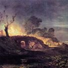 Coalbrookdale by Joseph Mallord Turner - A3 Paper Print