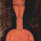 Modigliani - Red breasts - A3 Paper Print