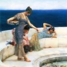 Silver Favorites by Alma-Tadema - A3 Poster