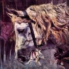 Head of a horse by Giovanni Boldini - 24x18 IN Poster