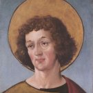 Head of a Male Saint. c.1515-16 - A3 Poster
