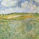 Auvers with rain clouds by Van Gogh - A3 Paper Print