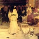 Mariamne Leaving the Judgment Seat of Herod - A3 Poster