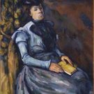 Seated Woman in Blue, 1902-04 - A3 Poster