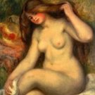 Large Bather with Crossed Legs, 1904 01 - A3 Poster