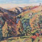The Sedelle Valley of Crozant, 1898 - 24x32 IN Canvas