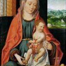 Madonna and Child (about 1530) - 24x32 IN Canvas