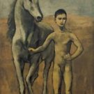 Pablo Picasso - Boy Leading a Horse - 24x32 IN Canvas