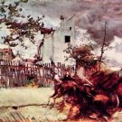 Outskirts of Paris by Giovanni Boldini - 24x32 IN Canvas