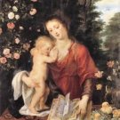 Mary with child by Rubens - Poster (24x32IN)