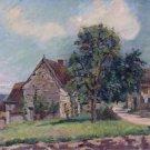 The Village of Damiette, 1885 - Poster (24x32IN)