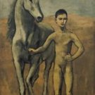 Pablo Picasso - Boy Leading a Horse - Poster (24x32IN)