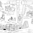 Vinteja charts of - ACS P-51 Mustang - A3 Paper Print