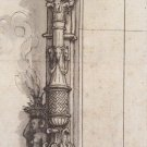 Design for a Window Frame. c.1530 - 24x18 IN Poster