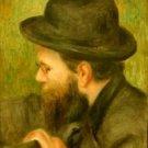 M Bernard man with the black hat - A3 Paper Print