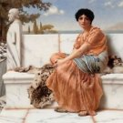 Godward - In the Days of Sappho - A3 Poster