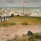 The Coast of Holland, 1884. - A3 Poster